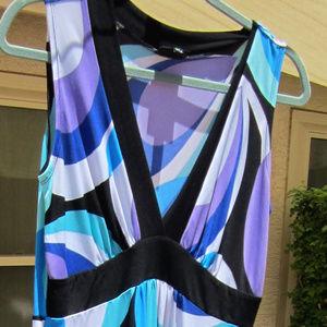 EnFocus retro mod maxi dress, sz 10